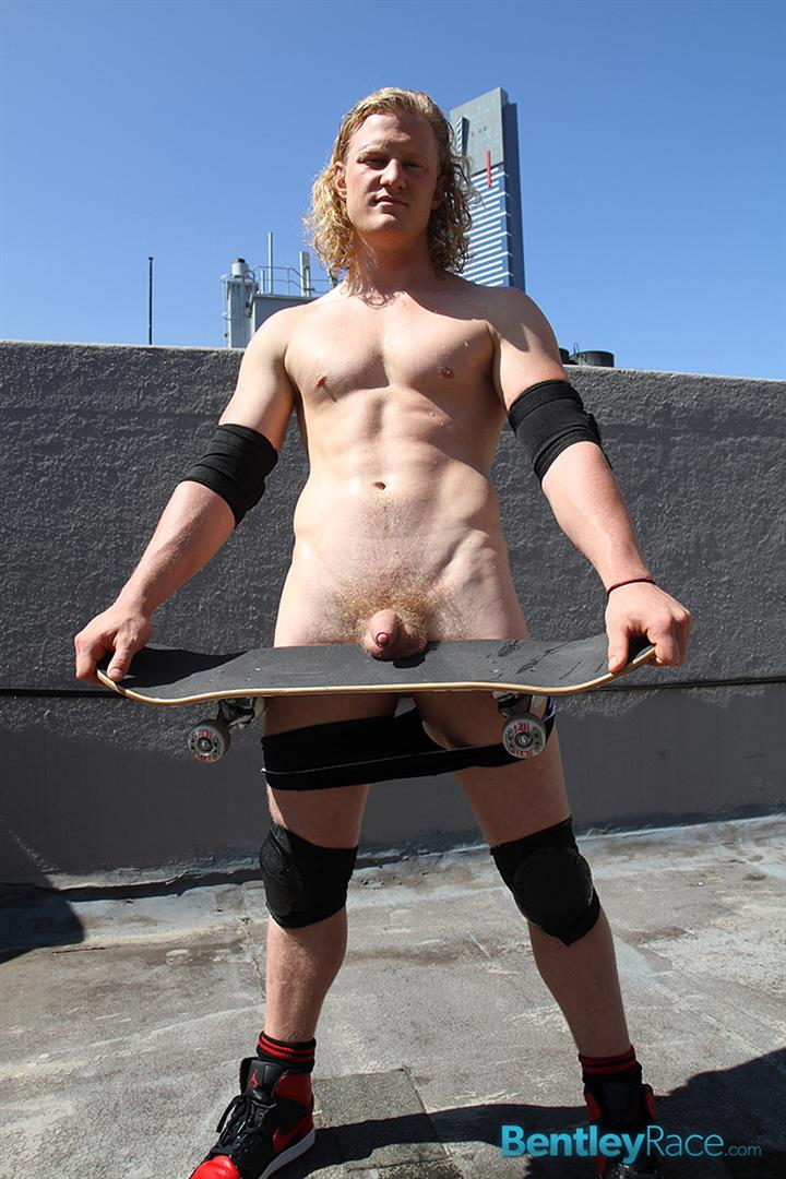 Bentley-Race-Shane-Phillips-Aussie-Skater-Showing-Off-His-Hairy-Uncut-Cock-Amateur-Gay-Porn-16 Aussie Skateboarder Shows Off His Hairy Uncut Cock In Public