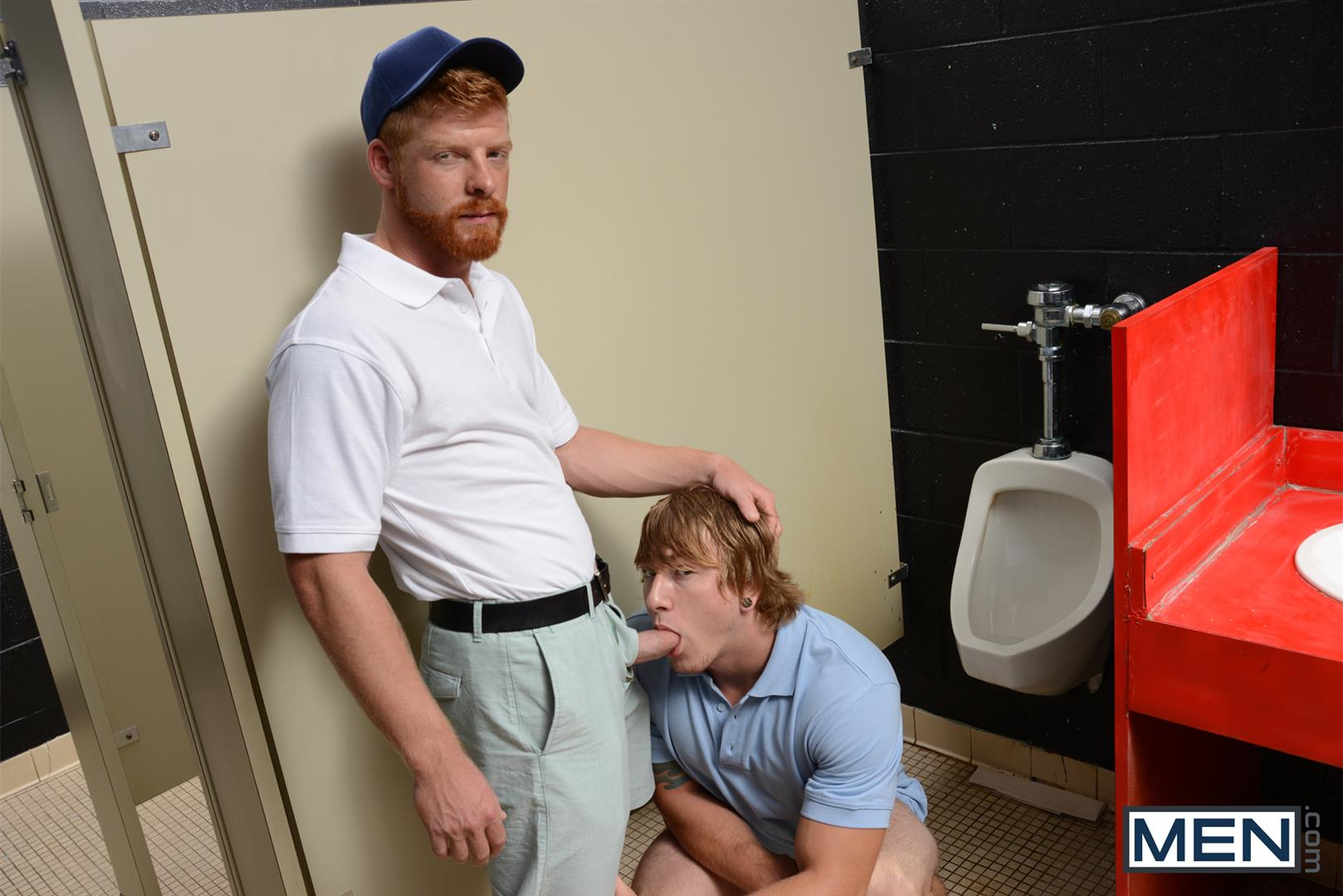 Men-Jizz-Orgy-Swingers-Bennett-Anthony-and-Cameron-Foster-and-Colt-Rivers-and-Tom-Faulk-Fucking-Bathroom-Amateur-Gay-Porn-10 Hung Golfing Buddies Fucking In The Bathroom and Clubhouse