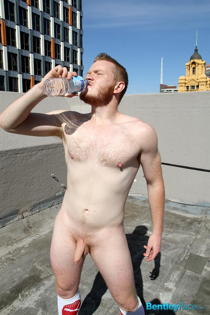 Bentley-Race-Beau-Jackson-Beefy-Redhead-Jerking-His-Big-Uncut-Cock-Amateur-Gay-Porn-28 Redhead Aussie Soccer Player Naked and Stroking A Big Uncut Cock