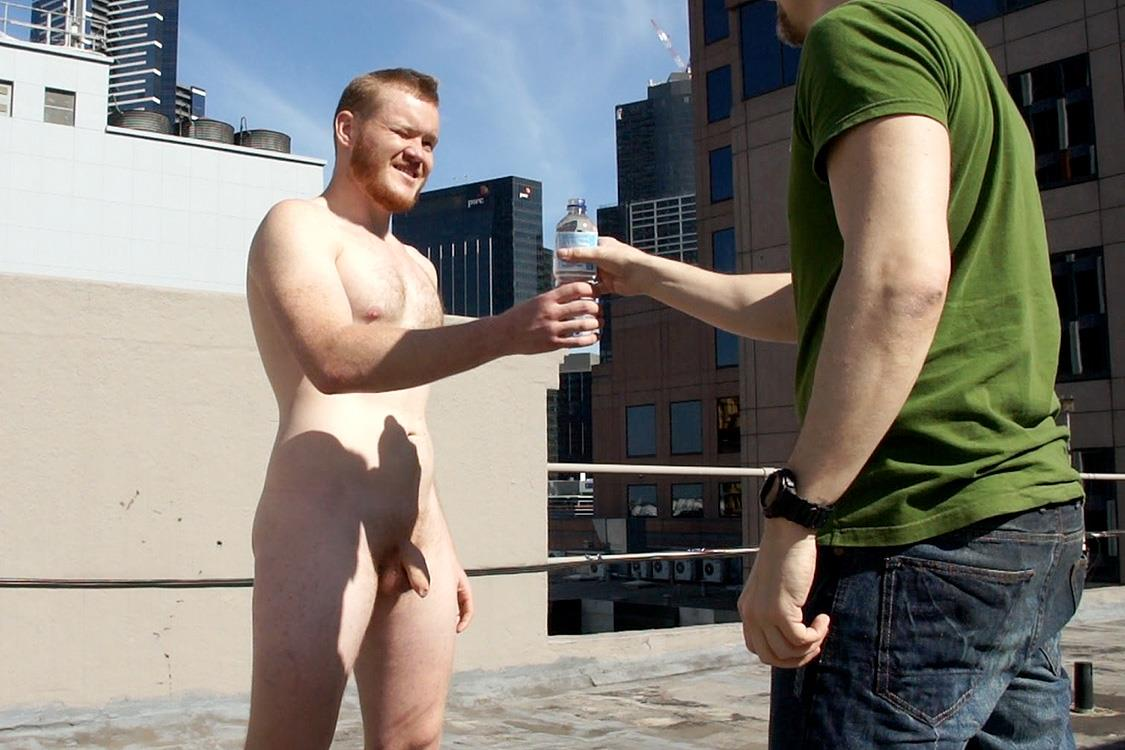 Bentley-Race-Beau-Jackson-Beefy-Redhead-Jerking-His-Big-Uncut-Cock-Amateur-Gay-Porn-42 Redhead Aussie Soccer Player Naked and Stroking A Big Uncut Cock