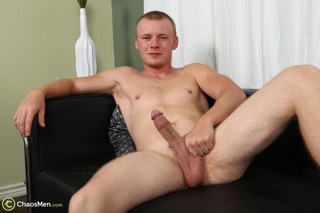 ChaosMen-Lincoln-Redhead-Low-Hanging-Balls-Jerking-Off-Ginger-Amateur-Gay-Porn-20 Redheaded Straight Texas Guy With Low Hanging Balls Jerks Off His Big Cock