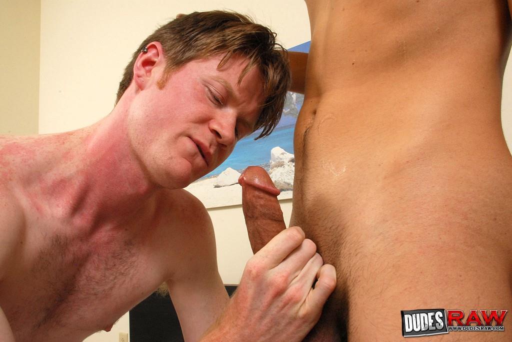 Dudes-Raw-Bradley-Wood-and-David-Gibbs-Redhead-Gets-Fucked-Bareback-Amateur-Gay-Porn-045 Bareback Breeding A Shaggy Redhead