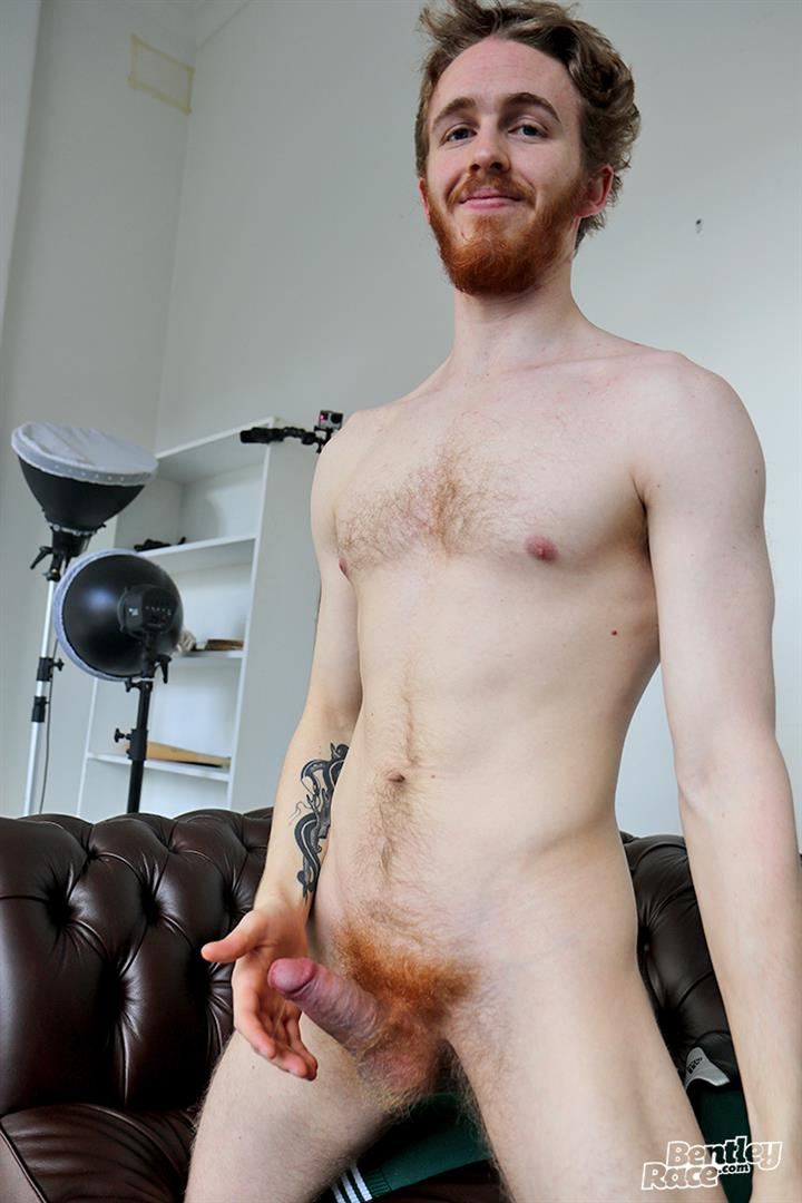 Bentley-Race-Tomas-Kyle-Redheaded-Jock-With-A-Big-Uncut-Cock-13 Ginger Jock Busts Out His Big Uncut Cock And Hairy Balls